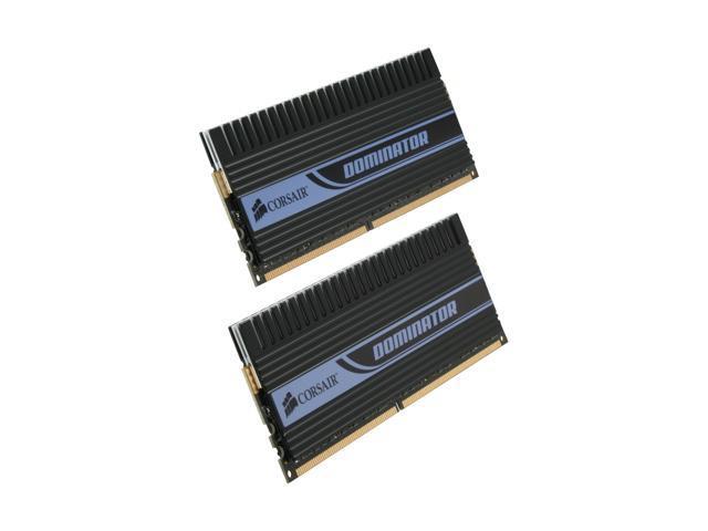 CORSAIR DOMINATOR 4GB (2 x 2GB) 240-Pin DDR2 SDRAM DDR2 1066 (PC2 8500) Dual Channel Kit Desktop Memory Model TWIN2X4096-8500C5D