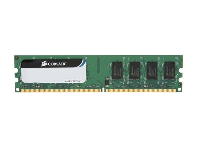 CORSAIR 2GB 240-Pin DDR2 SDRAM DDR2 800 (PC2 6400) Desktop Memory Model VS2GB800D2 G