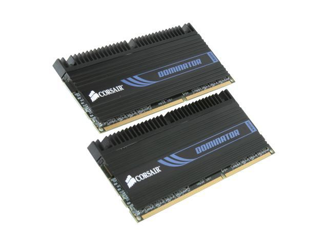 CORSAIR DOMINATOR 4GB (2 x 2GB) 240-Pin DDR3 SDRAM DDR3 1600 (PC3 12800) Desktop Memory Model CMD4GX3M2A1600C8