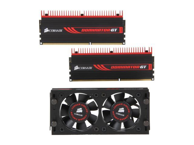 CORSAIR DOMINATOR GT 4GB (2 x 2GB) 240-Pin DDR3 SDRAM DDR3 1866 Desktop Memory Model CMT4GX3M2A1866C9