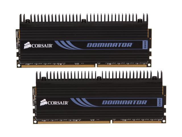 CORSAIR DOMINATOR 4GB (2 x 2GB) 240-Pin DDR3 SDRAM DDR3 1600 (PC3 12800) Desktop Memory Model CMP4GX3M2A1600C9