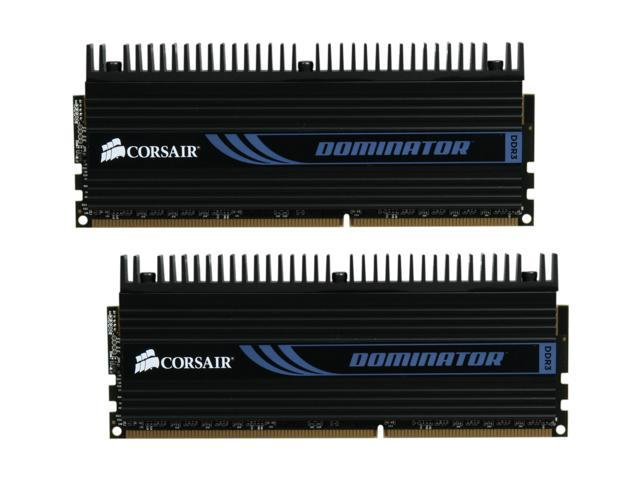CORSAIR DOMINATOR 4GB (2 x 2GB) 240-Pin DDR3 SDRAM DDR3 1600 (PC3 12800) Desktop Memory Model CMP4GX3M2A1600C8