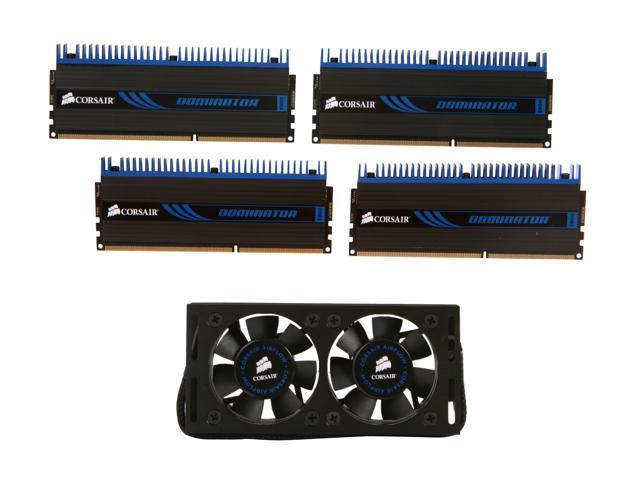 CORSAIR DOMINATOR 8GB (4 x 2GB) 240-Pin DDR3 SDRAM DDR3 1600 (PC3 12800) Desktop Memory Model CMP8GX3M4A1600C8