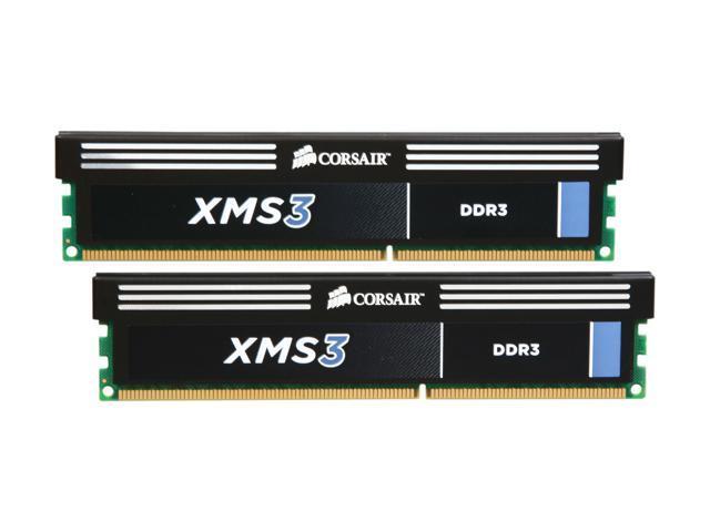 CORSAIR XMS3 8GB (2 x 4GB) 240-Pin DDR3 SDRAM DDR3 2000 (PC3 16000) Desktop Memory Model CMX8GX3M2A2000C9