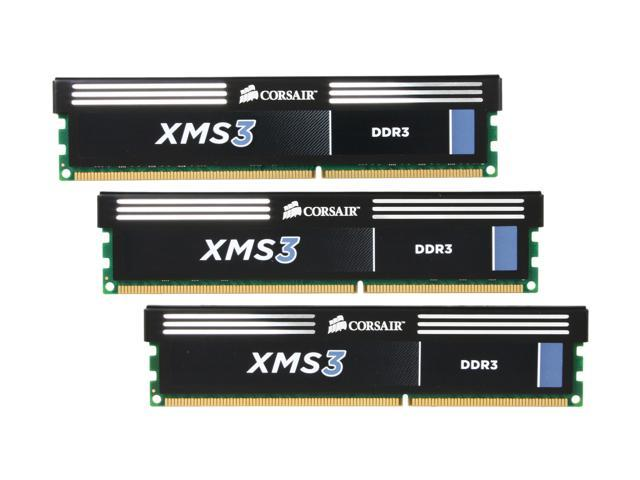 CORSAIR XMS3 12GB (3 x 4GB) 240-Pin DDR3 SDRAM DDR3 2000 (PC3 16000) Desktop Memory Model CMX12GX3M3A2000C9