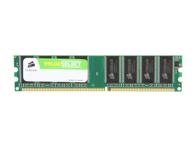 CORSAIR 512MB 184-Pin DDR SDRAM DDR 333 (PC 2700) Desktop Memory Model VS512MB333