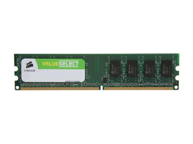 CORSAIR 1GB 240-Pin DDR2 SDRAM DDR2 533 (PC2 4200) Desktop Memory Model VS1GB533D2