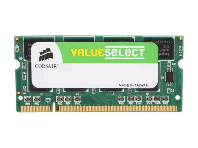 CORSAIR 1GB 200-Pin DDR SO-DIMM DDR 400 (PC 3200) Laptop Memory Model VS1GSDS400