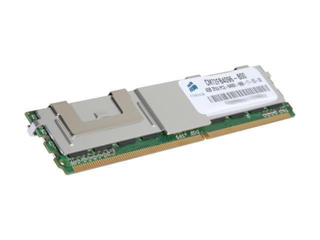 CORSAIR 4GB ECC Fully Buffered DDR2 800 (PC2 6400) Server Memory Model CM72FB4096-800