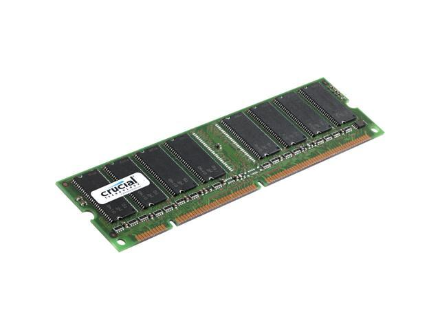 Crucial 512MB 168-Pin SDRAM PC 133 Desktop Memory Model CT64M64S4D75 - OEM