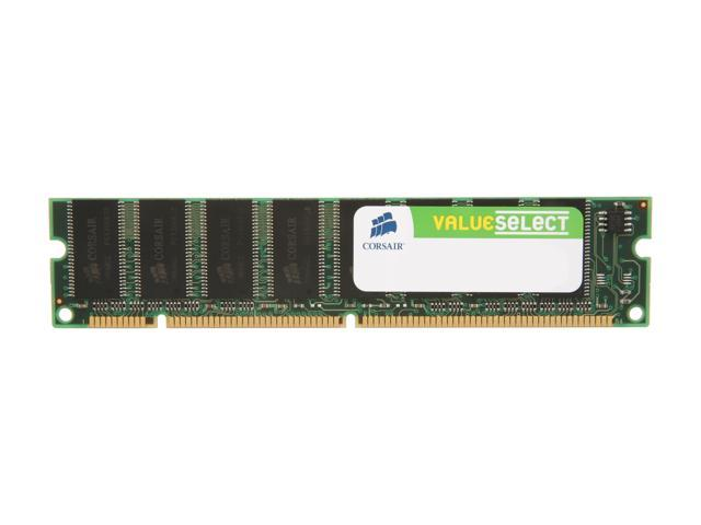 CORSAIR 256MB 168-Pin SDRAM PC 133 Desktop Memory Model VS256MB133