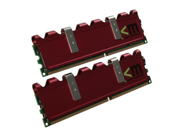 Mushkin Enhanced Redline 2GB (2 x 1GB) 184-Pin DDR SDRAM DDR 500 (PC 4000) Dual Channel Kit Desktop Memory Model 991493