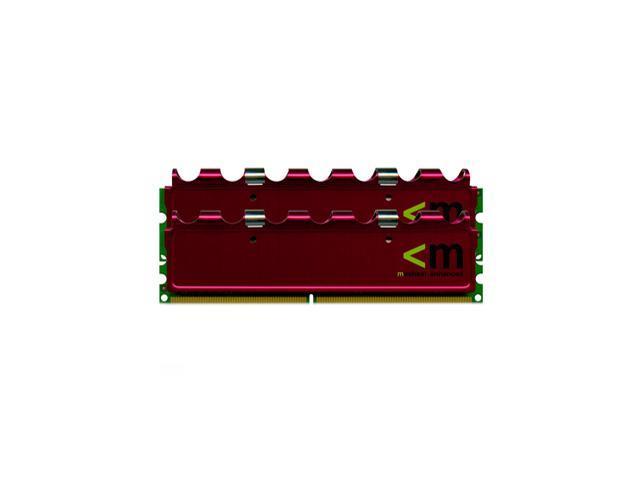 Mushkin Enhanced REDLINE 2GB (2 x 1GB) 240-Pin DDR2 SDRAM DDR2 1000 (PC2 8000) with EPP Profile Dual Channel Kit Desktop Memory Model 996525