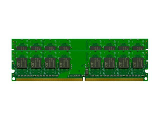 Mushkin Enhanced 1GB (2 x 512MB) 184-Pin DDR SDRAM DDR 400 (PC 3200) Dual Channel Kit Desktop Memory Model 991145
