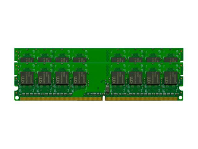 Mushkin Enhanced 1GB (2 x 512MB) 184-Pin DDR SDRAM DDR 333 (PC 2700) Dual Channel Kit Desktop Memory Model 991148