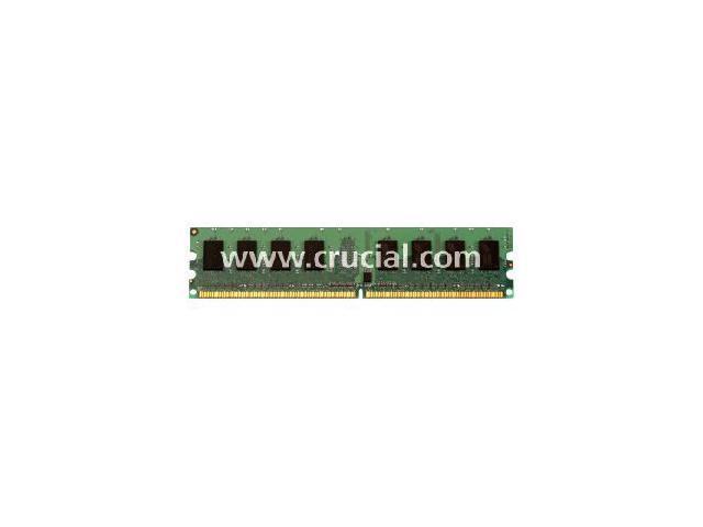 Crucial 2GB 240-Pin DDR2 SDRAM DDR2 533 (PC2 4200) Desktop Memory Model CT25664AA53E