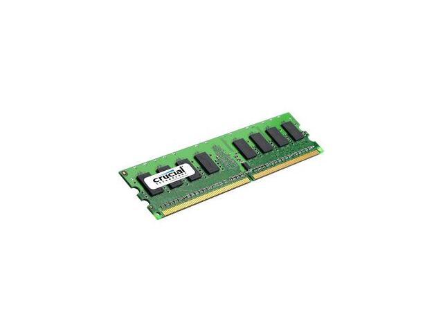 Crucial 1GB 240-Pin DDR2 SDRAM ECC Unbuffered DDR2 667 (PC2 5300) Server Memory Model CT12872AA667