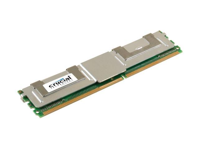 Crucial 1GB ECC Fully Buffered DDR2 533 (PC2 4200) Server Memory Model CT12872AF53E