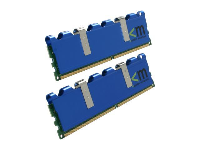Mushkin Enhanced Blackline 2GB (2 x 1GB) 240-Pin DDR2 SDRAM DDR2 800 (PC2 6400) with EPP Profile Desktop Memory Model 996533