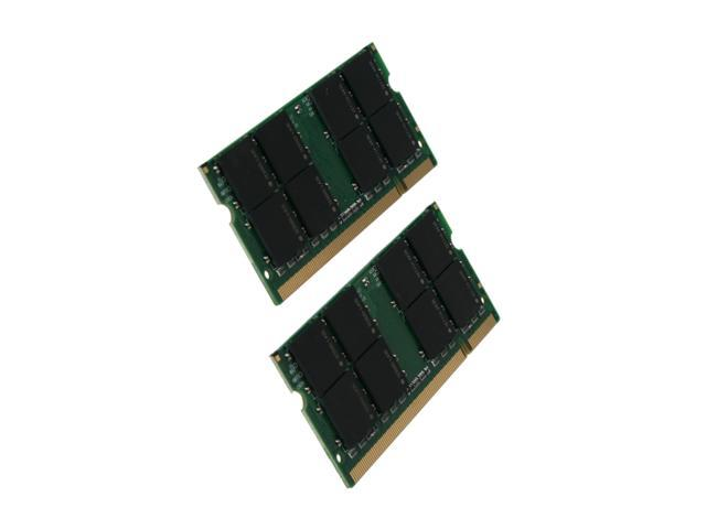 Mushkin Enhanced 4GB (2 x 2GB) 200-Pin DDR2 SO-DIMM DDR2 667 (PC2 5300) Dual Channel Kit Memory for Apple Model 976559A