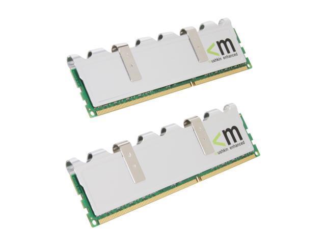 Mushkin Enhanced Silverline 4GB (2 x 2GB) 240-Pin DDR3 SDRAM DDR3 1333 (PC3 10666) Dual Channel Kit Desktop Memory Model ...