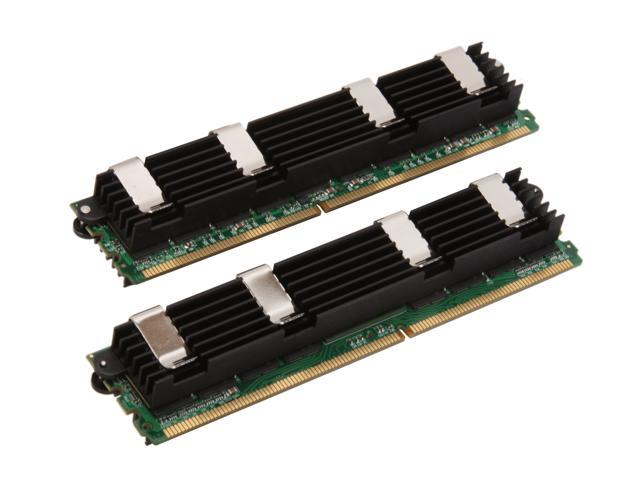 Mushkin Enhanced 8GB (2 x 4GB) DDR2 800 (PC2 6400) ECC Fully Buffered Dual Channel Kit Memory For Apple Mac Pro Model 976609A