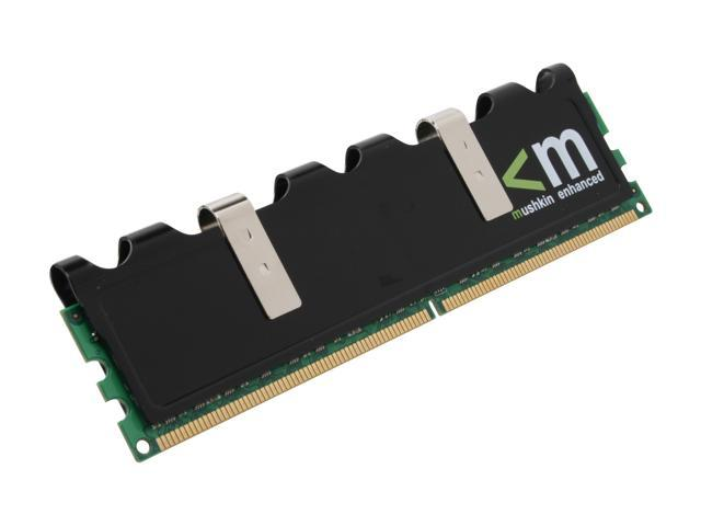 Mushkin Enhanced Blackline 2GB 240-Pin DDR2 SDRAM DDR2 1066 (PC2 8500) Desktop Memory Model 991599