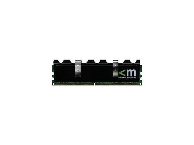 Mushkin Enhanced Blackline 4GB (2 x 2GB) 240-Pin DDR2 SDRAM DDR2 1066 (PC2 8500) Dual Channel Kit Desktop Memory Model 996599