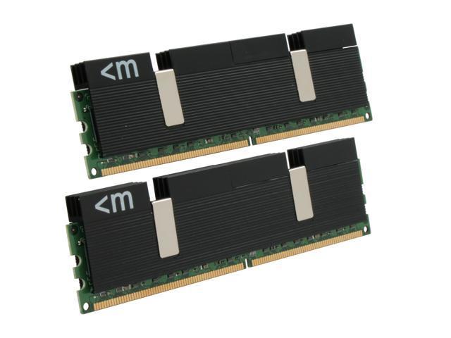 Mushkin Enhanced Blackline 4GB (2 x 2GB) 240-Pin DDR2 SDRAM DDR2 1066 (PC2 8500) Dual Channel Kit Desktop Memory Model 996619