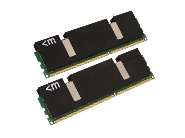 Mushkin Enhanced Blackline 4GB (2 x 2GB) 240-Pin DDR3 SDRAM DDR3 1600 (PC3 12800) Dual Channel Kit Desktop Memory Model 996625