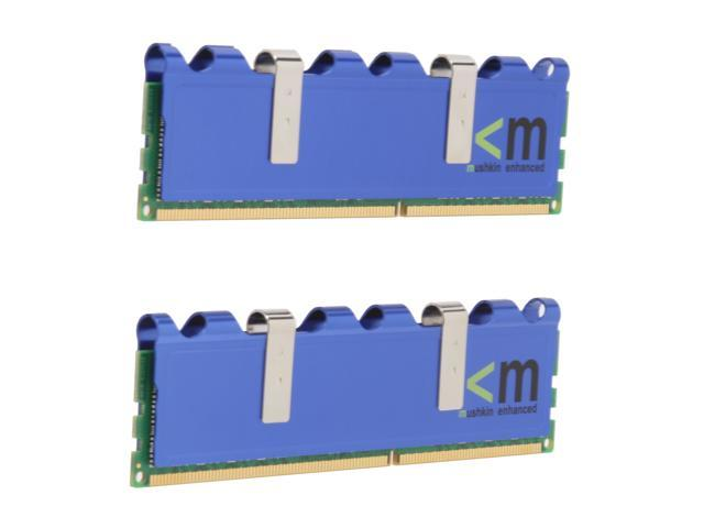 Mushkin Enhanced Blackline 4GB (2 x 2GB) 240-Pin DDR3 SDRAM DDR3 1600 (PC3 12800) Dual Channel Kit Desktop Memory Model 996629