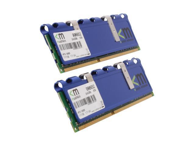 Mushkin Enhanced Blackline 4GB (2 x 2GB) 240-Pin DDR3 SDRAM DDR3 1333 (PC3 10666) Dual Channel Kit Desktop Memory Model 996652