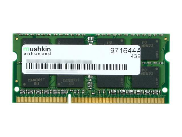 Mushkin Enhanced 4GB 204-Pin DDR3 SO-DIMM DDR3 1066 (PC3 8500) Memory For Apple Model 971644A