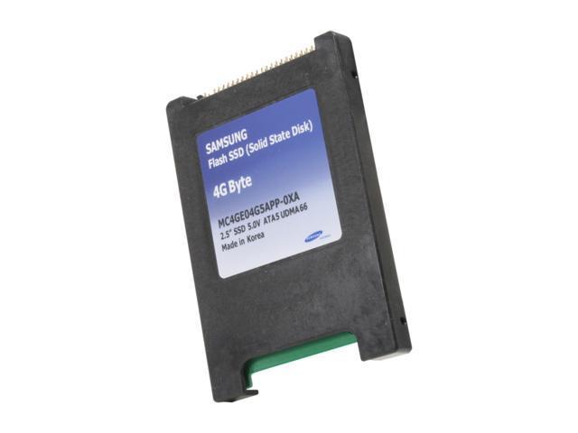"SAMSUNG 2.5"" 4GB PATA Internal Solid State Drive (SSD) MC4GE04G5APP-0XA0 - OEM"