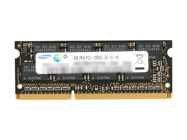 SAMSUNG 4GB 204-Pin DDR3 SO-DIMM DDR3 1333 (PC3 10600) Laptop Memory Model MV-3T4G4/US