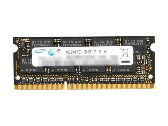 SAMSUNG 4GB 204-Pin DDR3 SO-DIMM DDR3 1333 (PC3 10600) Laptop Memory Model MV-3T4G4/US