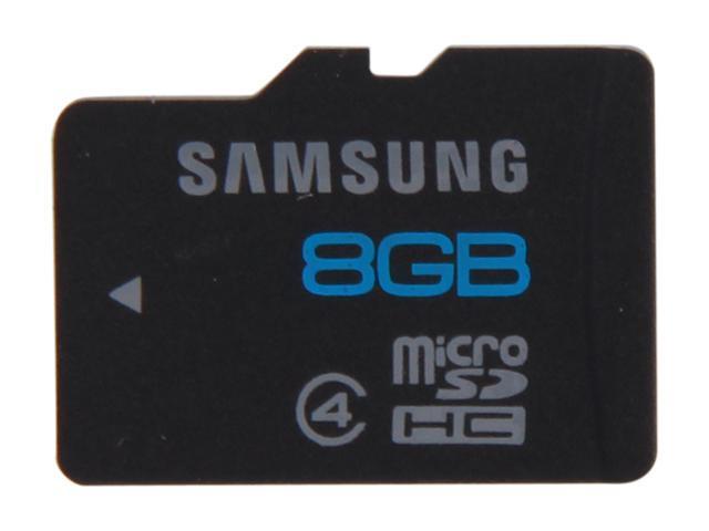 SAMSUNG 8GB microSDHC Flash Card Model MB-MS8GB/AM