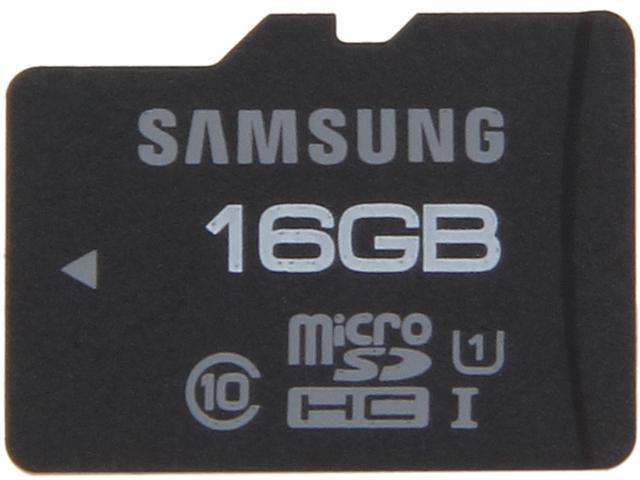 SAMSUNG Pro 16GB microSDHC Flash Card Model MB-MGAGB/AM