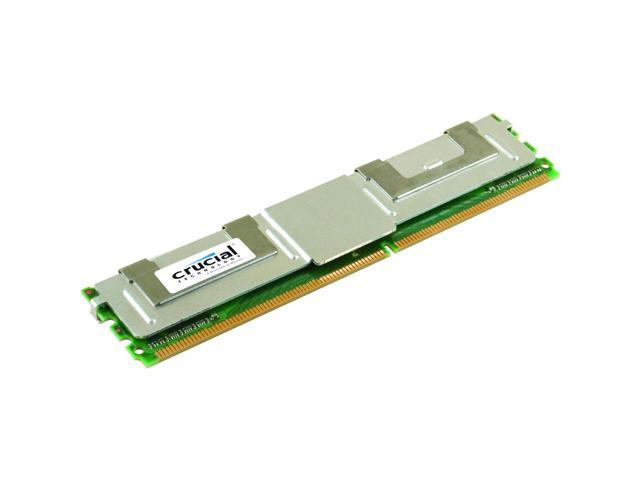 Crucial 2GB ECC Fully Buffered DDR2 667 (PC2 5300) Server Memory Model CT25672AF667