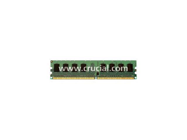 Crucial 4GB (2 x 2GB) 184-Pin DDR SDRAM ECC Registered DDR 333 (PC 2700) Dual Channel Kit Server Memory Model CT2KIT25672Y335