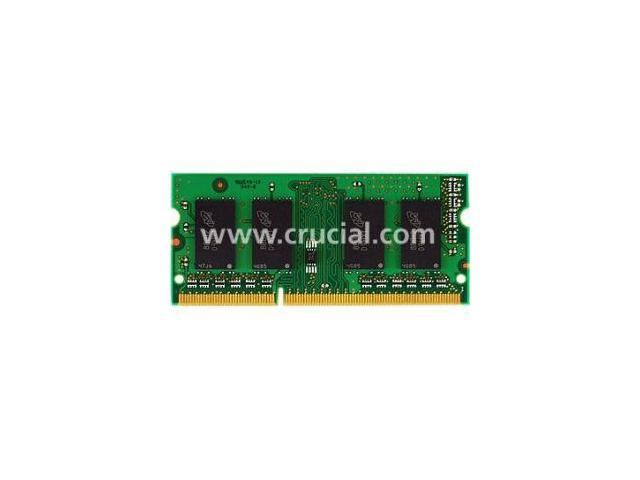 Crucial 1GB 204-Pin DDR3 SO-DIMM DDR3 1066 (PC3 8500) Laptop Memory Model CT12864BC1067