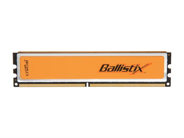 Crucial Ballistix 2GB 240-Pin DDR2 SDRAM DDR2 800 (PC2 6400) Desktop Memory Model BL25664AA80A