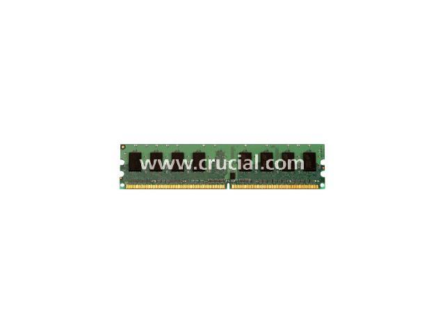 Crucial 4GB ECC Fully Buffered DDR2 800 (PC2 6400) Server Memory Model CT51272AF80E