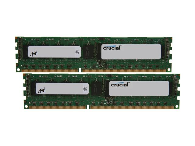 Crucial 8GB (2 x 4GB) 240-Pin DDR3 SDRAM ECC Registered DDR3 1333 (PC3 10600) Server Memory Model CT2KIT51272BB1339