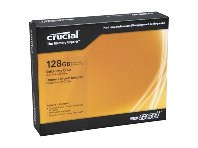 "Crucial RealSSD C300 2.5"" 128GB SATA III MLC Internal Solid State Drive (SSD) CTFDDAC128MAG-1G1CCA"