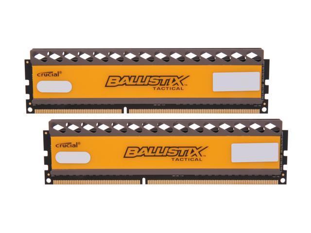 Crucial Ballistix Tactical 8GB (2 x 4GB) 240-Pin DDR3 SDRAM DDR3 1333 (PC3 10600) Desktop Memory Model BLT2KIT4G3D1337DT1TX0