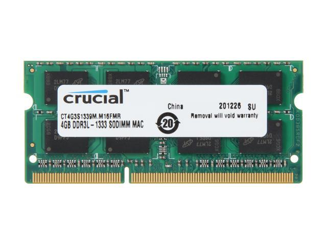 Crucial 4GB DDR3 1333 Memory for Apple Model CT4G3S1339M