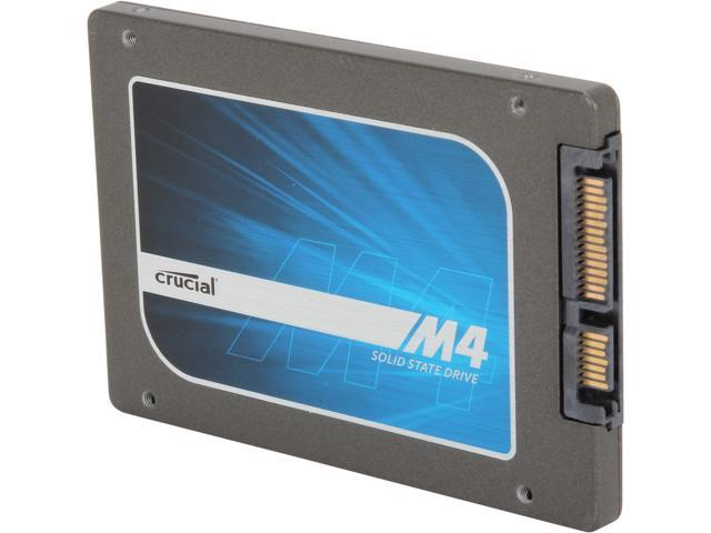 "Manufacturer Recertified Crucial M4 2.5"" 512GB SATA III MLC 7mm Internal Solid State Drive (SSD) CT512M4SSD1"