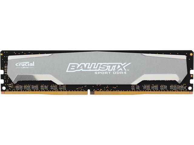 Crucial Ballistix Sport 4GB 288-Pin DDR4 SDRAM DDR4 2400 (PC4 19200) Desktop Memory Model BLS4G4D240FSA