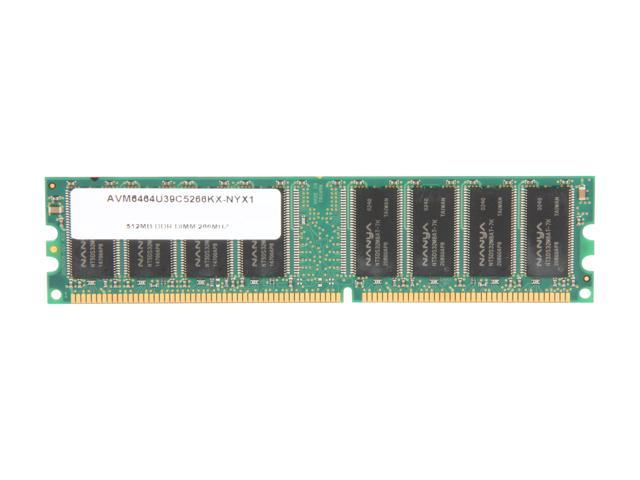 AllComponents 512MB 184-Pin DDR SDRAM DDR 266 (PC 2100) Desktop Memory Model AC266X64/512/16C